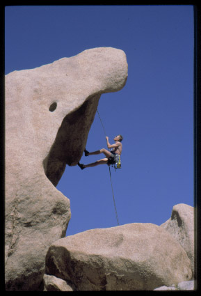 Shark Mouth Rappel